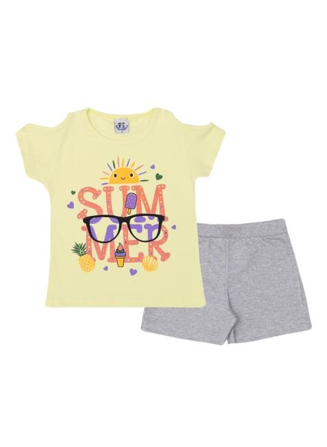 ln4160 1 am conjunto shorts mescla