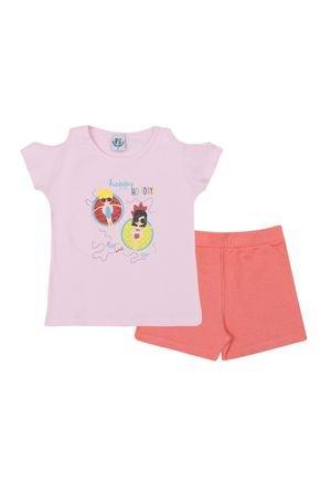 ln4150 1 rs conjunto com shorts acerola