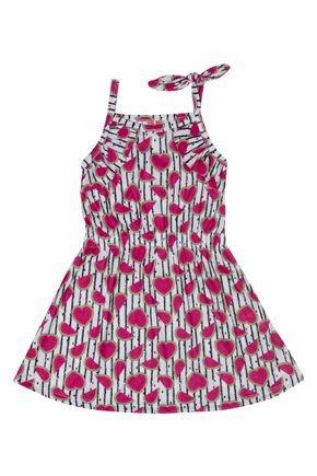 ti13139 vestido menina de verao