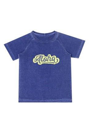 Camiseta Marinho Menino de Verão - Ralakids