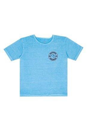 Camiseta Azul Menino de Verão - Ralakids