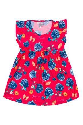 Vestido Menina de Verão em Suplex Pink Rotativo - Liga Nessa