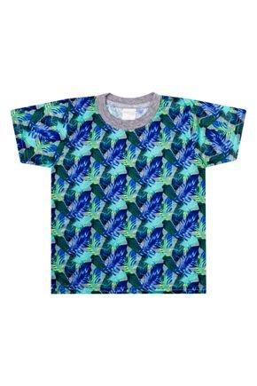 Camiseta Menino de Verão em Malha Fiada - Molekada