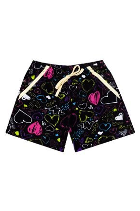 Shorts Rotativo do Conjunto Menina de Verão - Liga Nessa