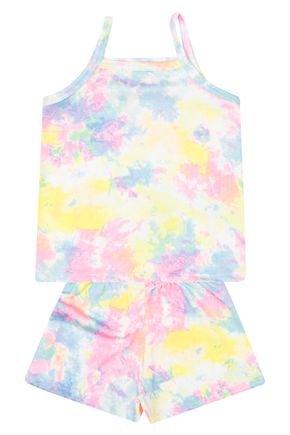 Conjunto Menina em Suplex Tie Dye - Kontrato