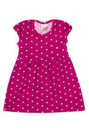 Vestido Menina de Verão em Suplex Pink Sublimado - Kontrato