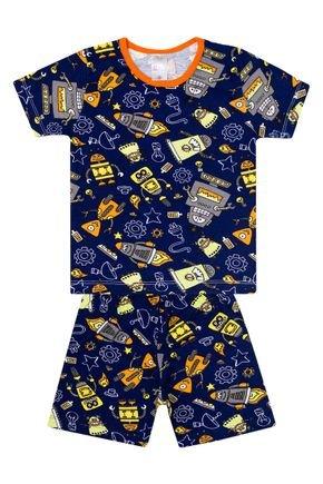 Conjunto Pijama Masculino Rotativo de Verão  - Liga Nessa