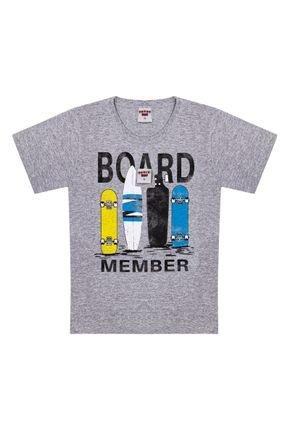 Camiseta em Meia Malha Mescla - Pimentinha