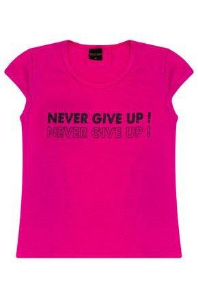 Blusa Menina em Cotton Pink - Viston
