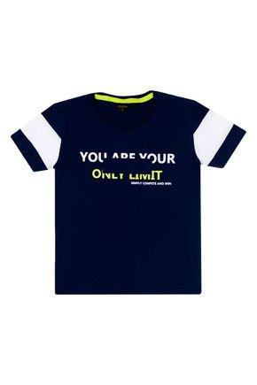 Camiseta Menino em Meia Malha Marinho - Viston