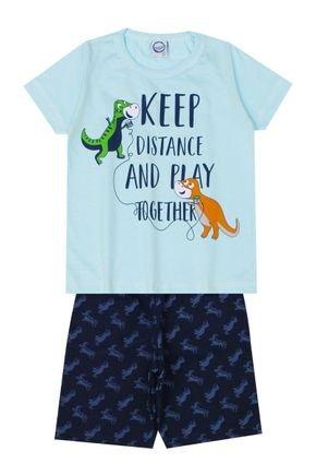 Conjunto Menino de Verão Camiseta e Bermuda - InovaKids