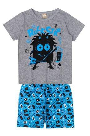 Conjunto Menino de Verão Camiseta e Bermuda - My Cat